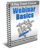 Webinar Basics E-Course